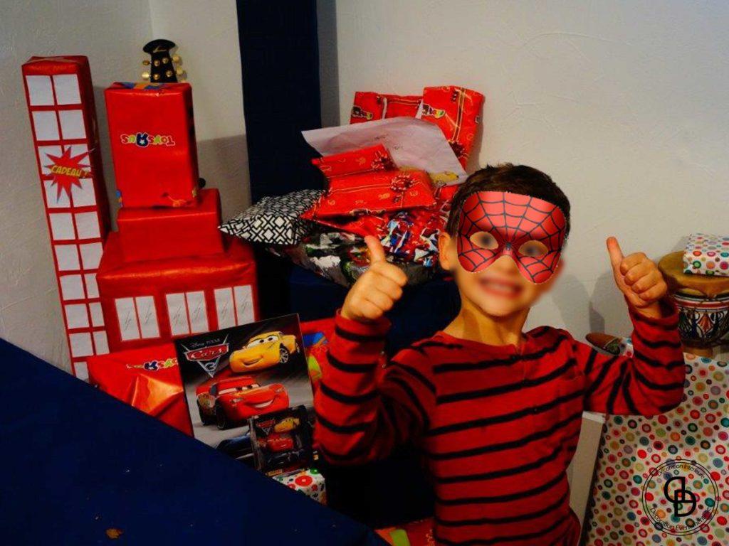 anniversaire garcon 5 ans theme super heros decoraly