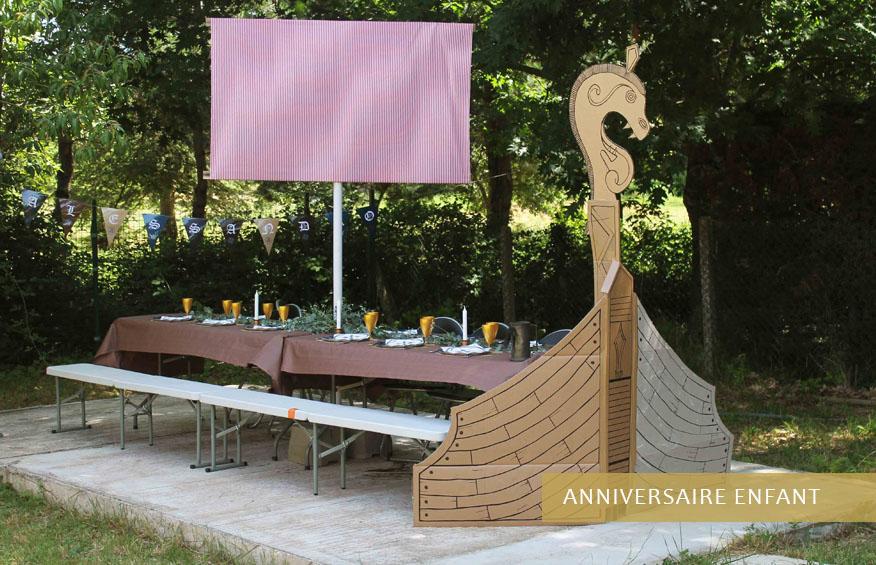 Décoratrice pour anniversaire enfants sur Toulouse