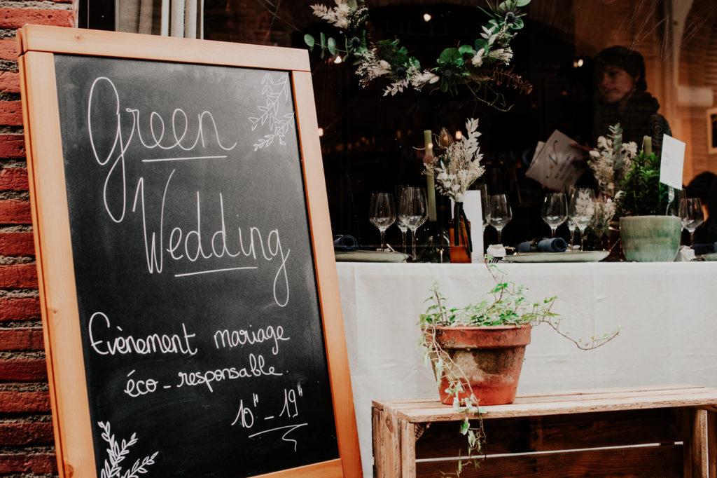 green wedding à Toulouse