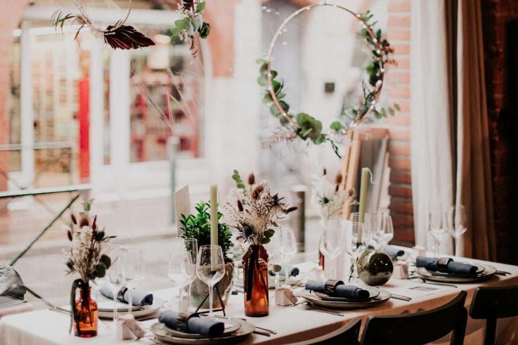 Table décorée mariage Toulouse