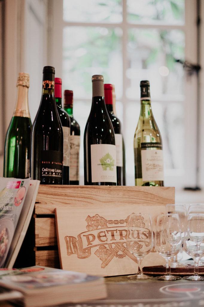 sélection de vins biologiques