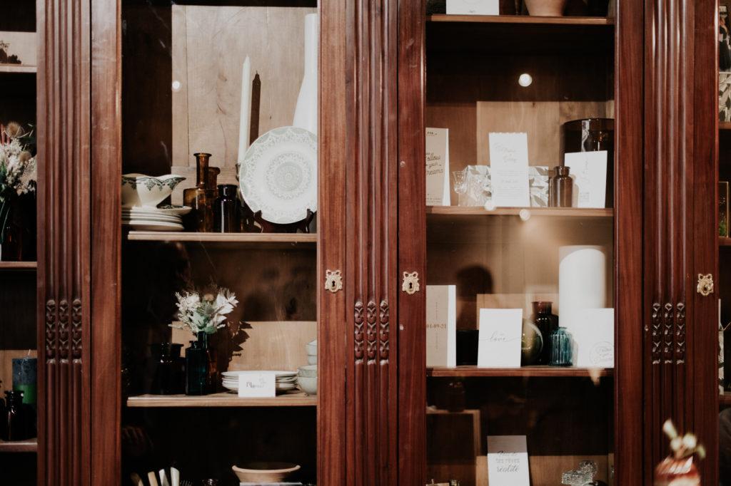 décoration vaisselier décoraly