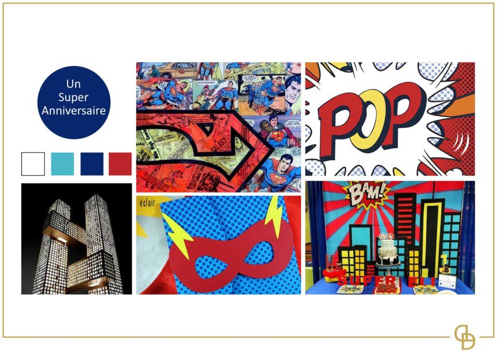 Thème Super Héros pour un anniversaire sur Toulouse