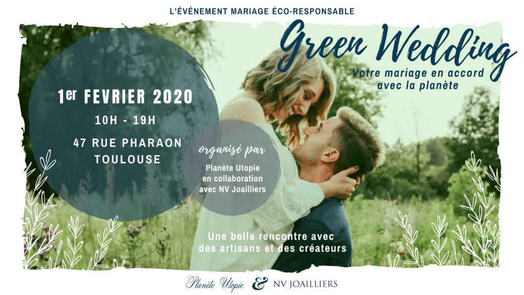 Le salon du mariage éco responsable sur Toulouse