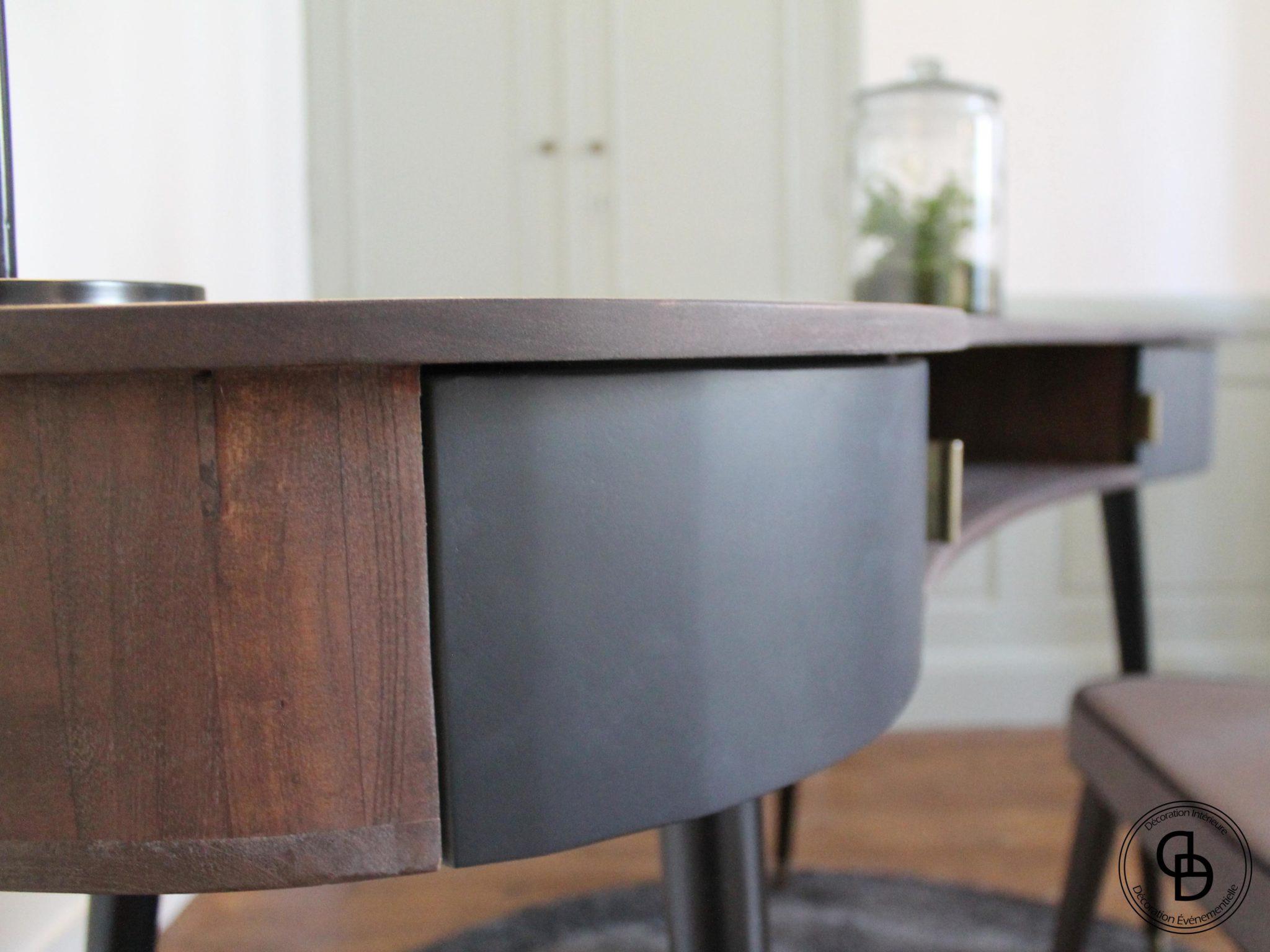 bureau bois élégant