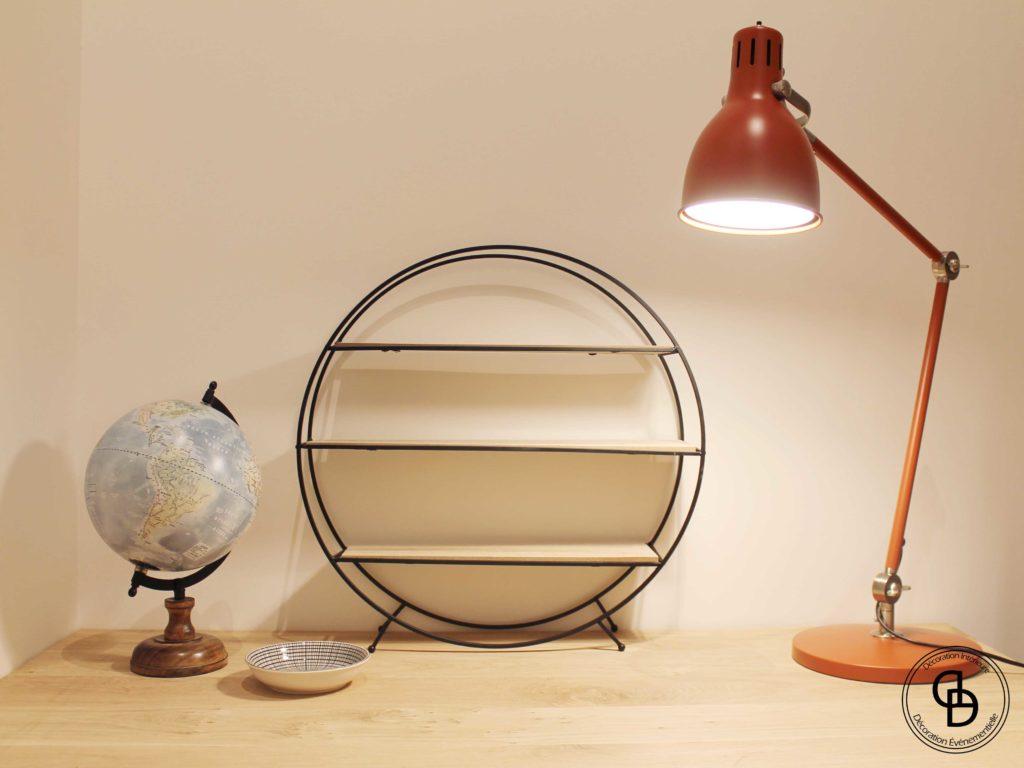 Lampe de bureau Ikea globe
