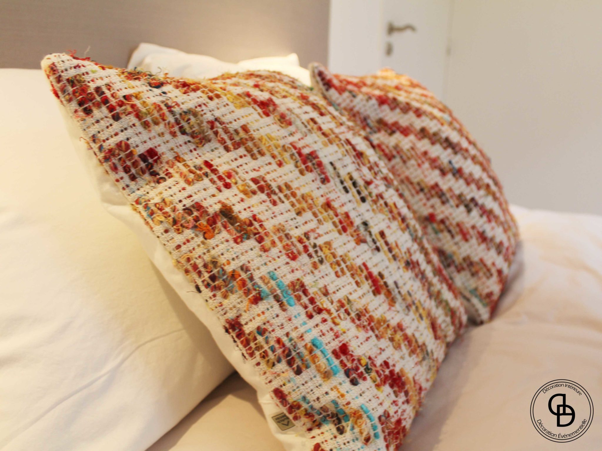 Motifs géométriques, aspect crochets