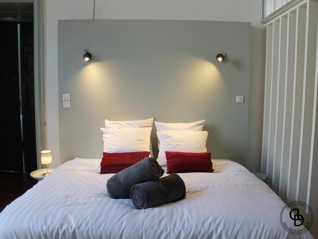 lit king size chambre parentale