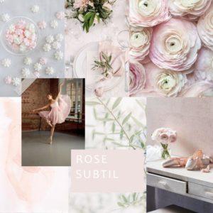 rose decoration thème mariage